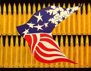 U.S. Flag by victoriakabluyen
