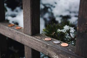 Good Luck Pennies (Day 13) by Jorgipie
