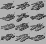 Tank Thumbs by KahzeArt
