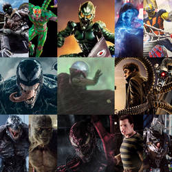 All Spider-Man Villains in Live Action by SP-Goji-Fan