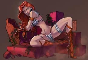 Red Sonja by andersonmahanski