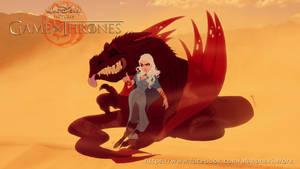 Disney GOT Deanerys by andersonmahanski