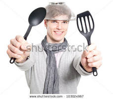 Stock-photo-funny-young-man-with-kitchen-tools-103 by Menses-chan