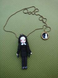 Little doll ' Wednesday' by Kandyskadoll