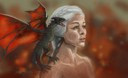 Mother of Dragons by ShermanTank13