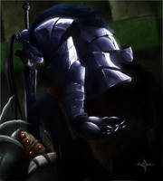Dark Souls-Artorias of the Abyss by EvilDei