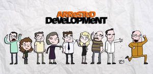 Arrested Development Cast by two2tone22