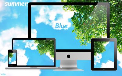 Summer Blue by Afioi