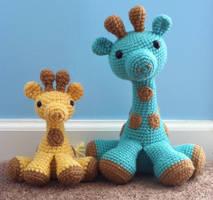 giraffes by TheArtisansNook