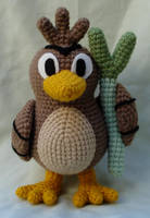 farfetch'd amigurumi by TheArtisansNook