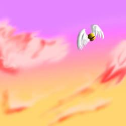 Angel Burger by whirlwynd