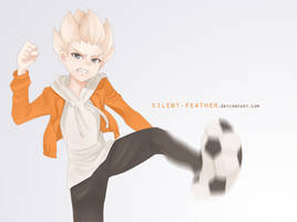 Gouenji Shuuya by Silent-Feather