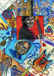 Clapton and Winwood by ZuzanaGyarfasova