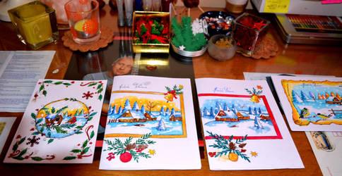 Xmas Cards Designs 2014 4 by ZuzanaGyarfasova