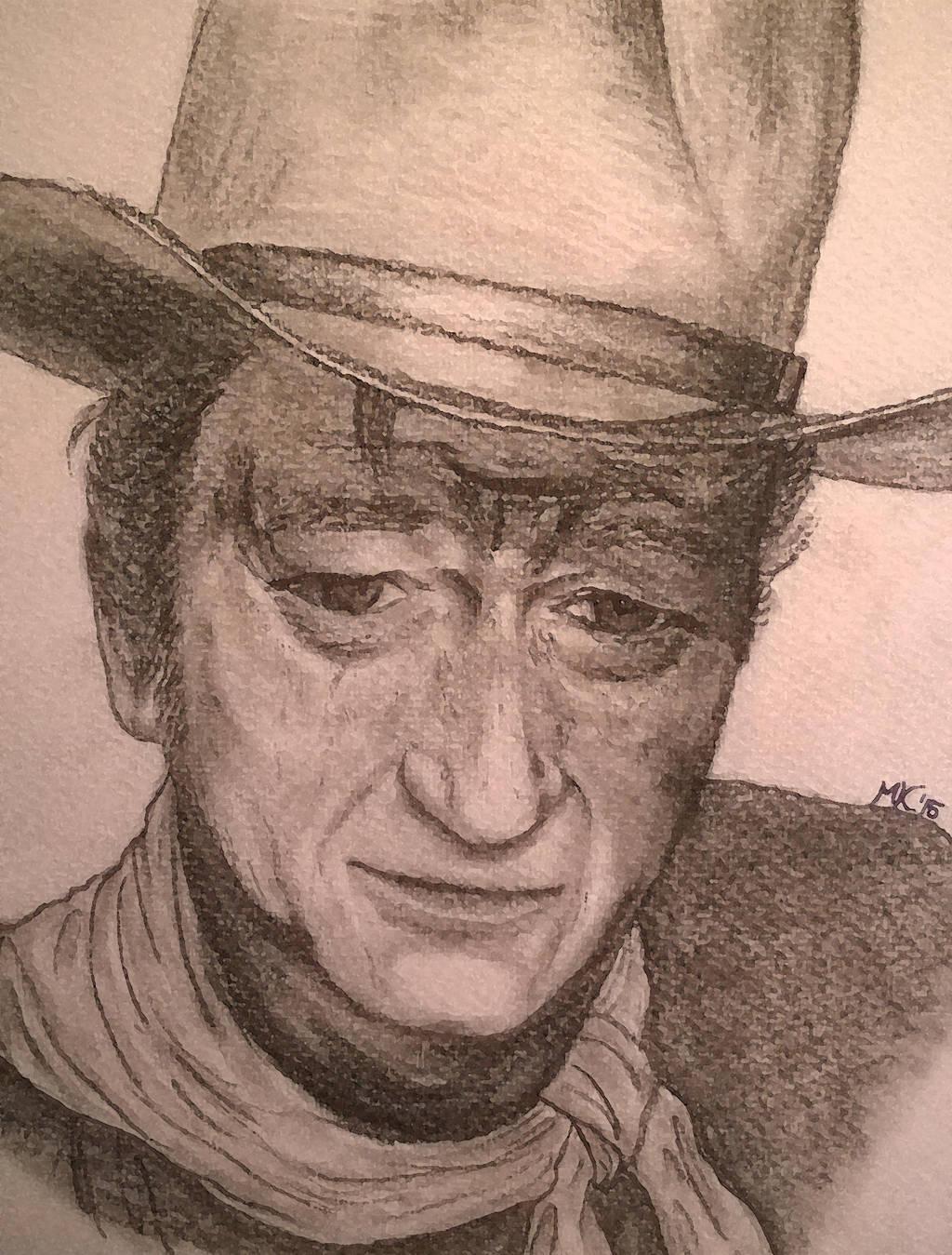 John Wayne by g33kgirl1980