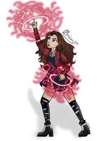 Scarlet Witch by Bricus27