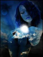 :: Goddess of the Night by shiba