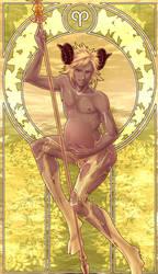 :: Mpreg Zodiac :: Aries by chantilin