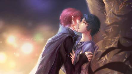 Magic Kiss by chantilin