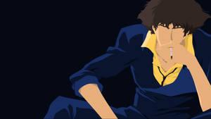 Spike Spiegel Darker Blue Version by tonyp2121