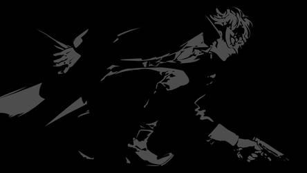 Persona 5 MC Black Version by tonyp2121