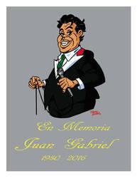 In Memoria Juan Gabriel by Martzthecat