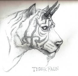 Tiger Faun by bozac