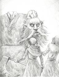 The Green Knight by bozac