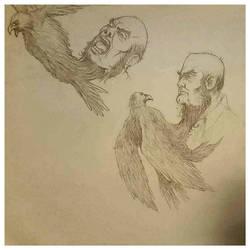 Neckbirdbeard Man by bozac
