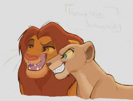 Quick sketch.:..Hungry Predators.. by Credens-Vita