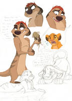 .Timon Doodles. 2 by Credens-Vita