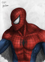 Colorized Spider-Man by JakeGreen