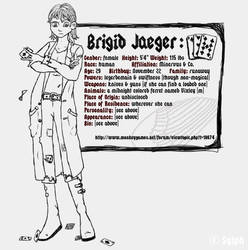 Brigid - Sketch by Daylight-at-Midnight