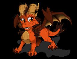 Ignitus Firethroat by WeirdHyenas