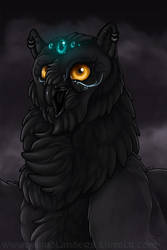 Kurosia : God of Birb by WeirdHyenas