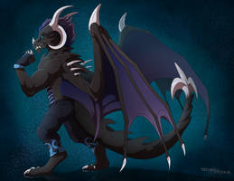 Commission : Rafeal by WeirdHyenas