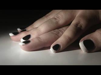 Bill Kaulitz Nail-Look by XxMangelBxX