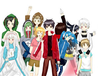 Kagerou Project by tabbyburger