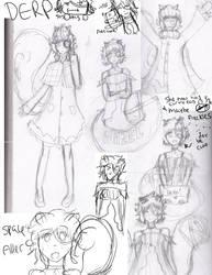 Hazel Doodles by tabbyburger
