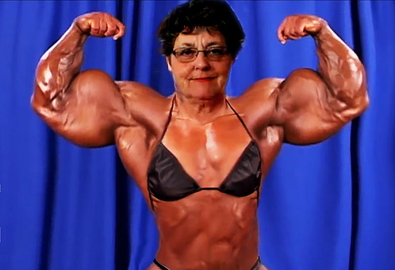 MassMuscle Granny by GrannyMuscle