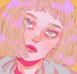portrait by Himion
