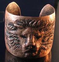 Copper Lion Cuff by Sothoth