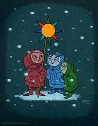 Happy Holidays by AronDraws