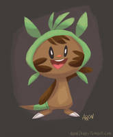 Chespin - Pokemon X by AronDraws