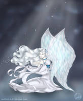 Ice Angel by wolfanita