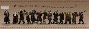 The Hobbit: Wrong Tune by wolfanita