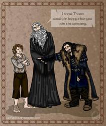 The Hobbit: First Impression by wolfanita