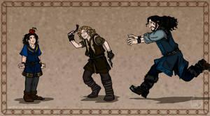 The Hobbit: Little Angels by wolfanita