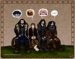 The Hobbit: Telepathy by wolfanita