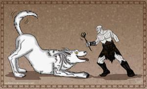 The Hobbit: Fetch! by wolfanita